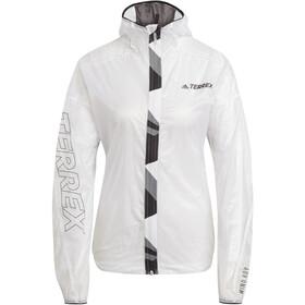 adidas TERREX Agravic TR Pro Windbreaker Damer, hvid